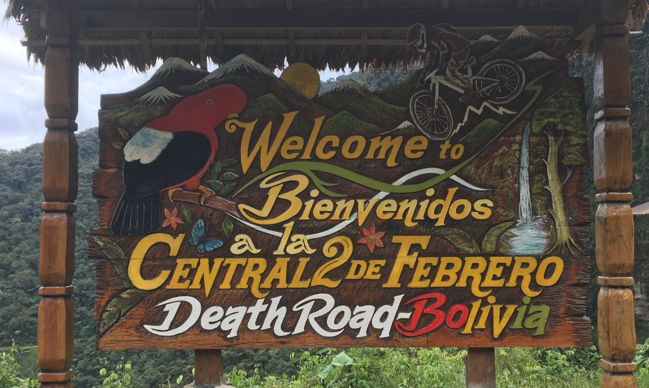 Dicing with the Death Road in Bolivia