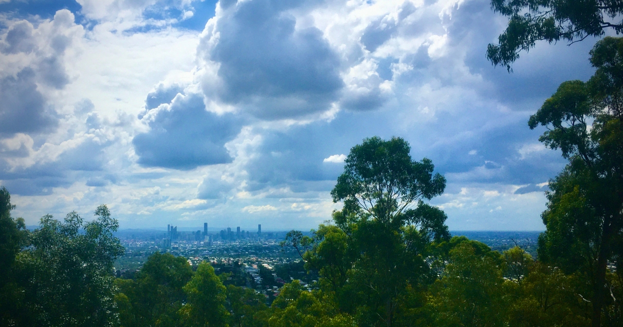 Brisbane City from Mt Gravatt
