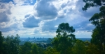 Brisbane City from Mt Gravatt